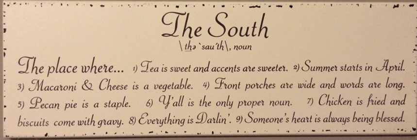 The South <3